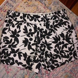 JCREW floral shorts
